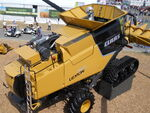 Claas Lexion 740 Terra-Trac combine w tracks (yellow) - 2011