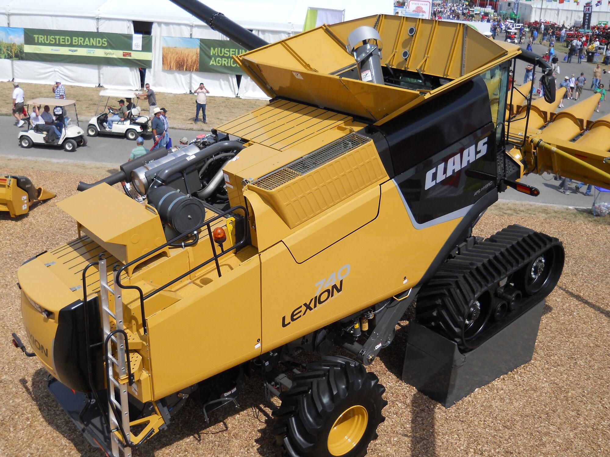 Claas Lexion 740 Terra-Trac (USA) | Tractor & Construction