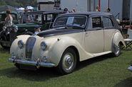 Lagonda 2-6litre 1951 front