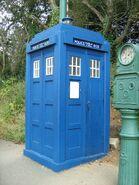 Tardis Police Box, Crich Tramway Village
