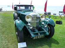 1931 Bentley 8 litre Vanden Plas Tourer