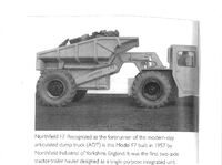 1957 NORTHFIELD F7 Diesel ADT