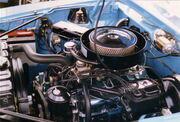 1970 AMC Javelin 390 CID Go Package engine