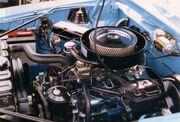 1970 AMC Javelin 390 CID Go Package engine