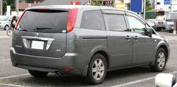 2003-2006 NISSAN PRESAGE X 3.5 rear
