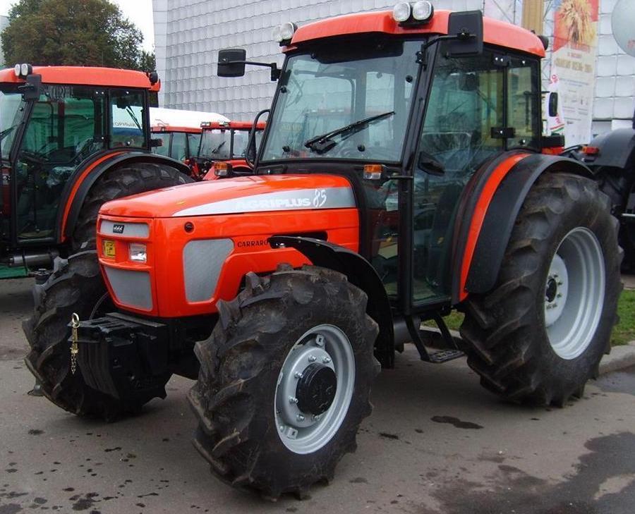 Antonio carraro agriplus 85 tractor construction plant for Forum trattori carraro