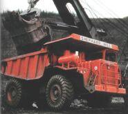 A 1970s Aveling Barford RD050 Mining Dumptruck Diesel