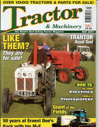T&M cover May 2007