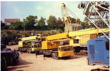 VICKERS-AWD Smith LT40 Cranetruck Diesel