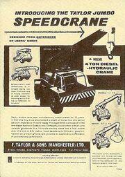 An original FGTS 1960s Model Range leaflet