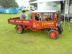 Steam wagon