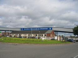 Longbridge roundabout - geograph.org.uk - 175040