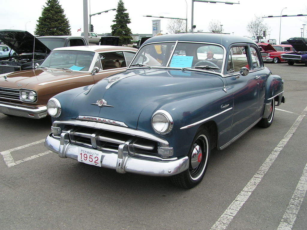 1952 Plymouth Cranbrook Club Coupe
