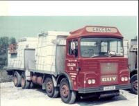 A 1970s GUY Big J8 Cargolorry 8X4