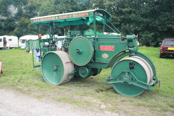 Aveling-Barford AD155 - Roller - TL7540 at Harewood 08 - IMG 0436