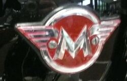 Matchless tank badge