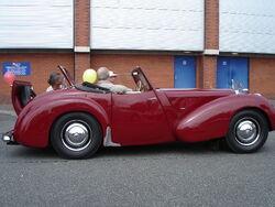 Triumph 1800 roadster side