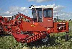 White 6200 swather - 1977