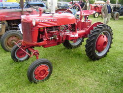 Farmall Cub at Astwood Bank 2008