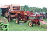 Jones baler (for threshing machine) at Belvoir 09 - IMG 8634