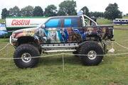 Hellboy Custom truck (near side) at Masham 09 - IMG 0199