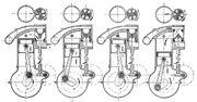 Itala rotary valve strokes