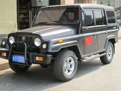 LieYing ZhanQi BJ2023CHD5 front quarter view