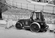 A 1960s Aveling Barford HDC12 Roadroller Diesel