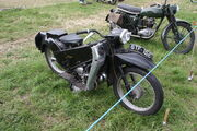 Velocette LE - BTF 15E at Netley Marsh 11 - IMG 7423