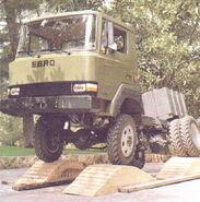1980s EBRO L70TT 4WD Diesel Truck