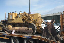 Cat 941B traxcavator - sn 70H2673 (336) at Malvern 09 - IMG 5348