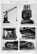 Late 1930s Neal 3 Ton Timber Yardcrane