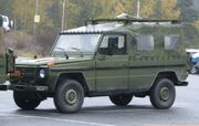 Mercedes-Benz Geländewagen Norwegian military fq