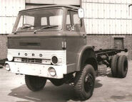 A 1970s AWD Ford Custom Class 4WD Lorry
