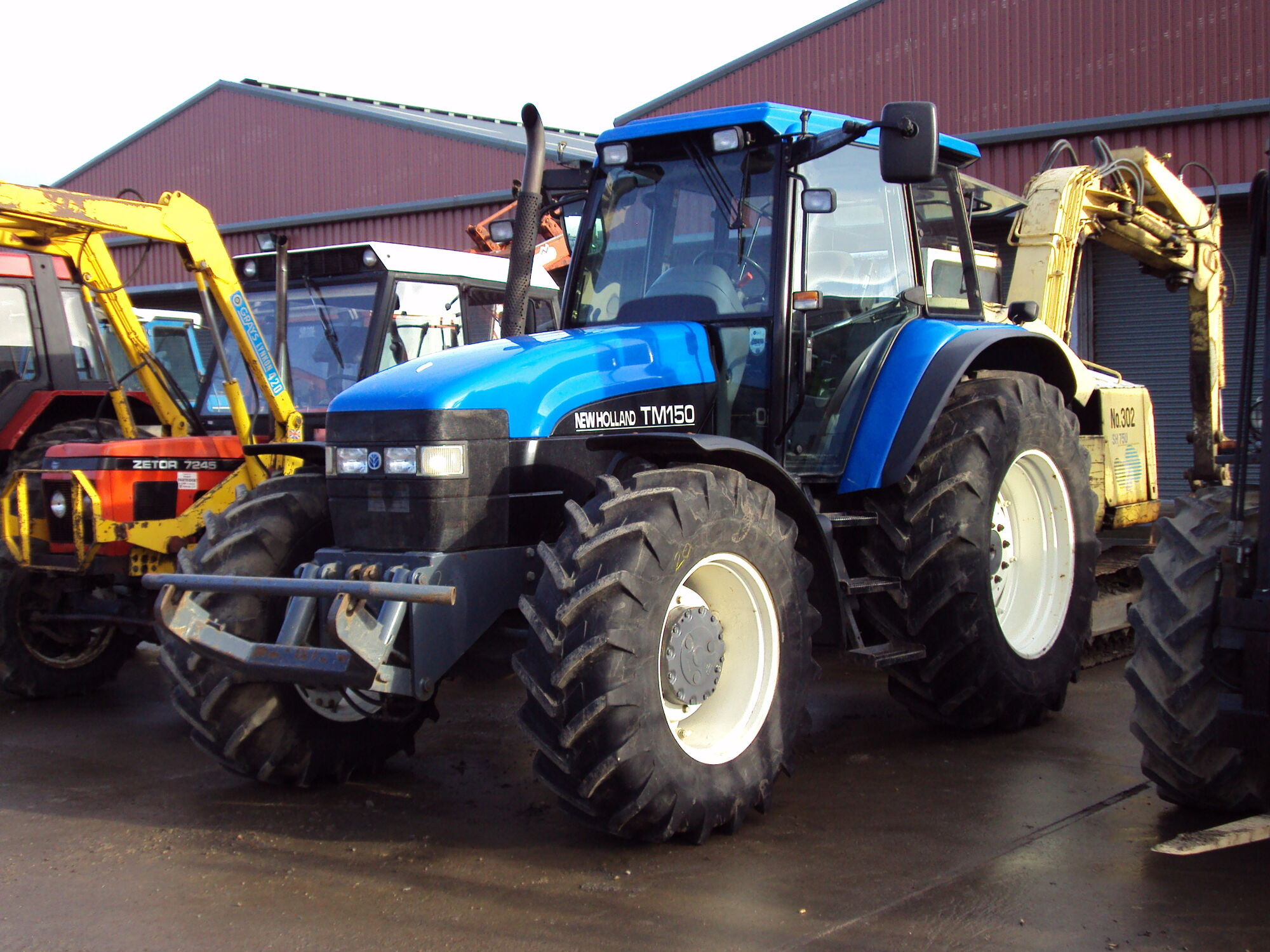 New Holland TM150 | Tractor & Construction Plant Wiki | FANDOM