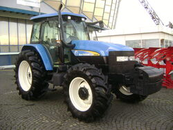 New Holland TM120 tractor at IndAgra Farm Romexpo 2010