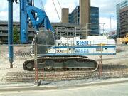 Soilmec R-625 piling rig - stent - DSCF0305
