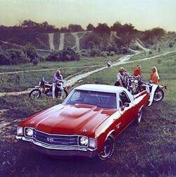 1972 El Camino SS