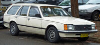 Beige station wagon automobile