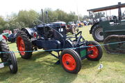 Fordson E27N Major with Auto-Mower winch at Onslow Park 2011 IMG 3848