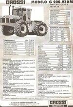 Grossi 200 4WD b&w brochure