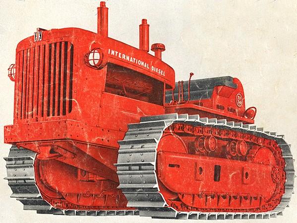 International TD-24 | Tractor & Construction Plant Wiki | FANDOM