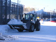 Loader removing snow Jyväskylä