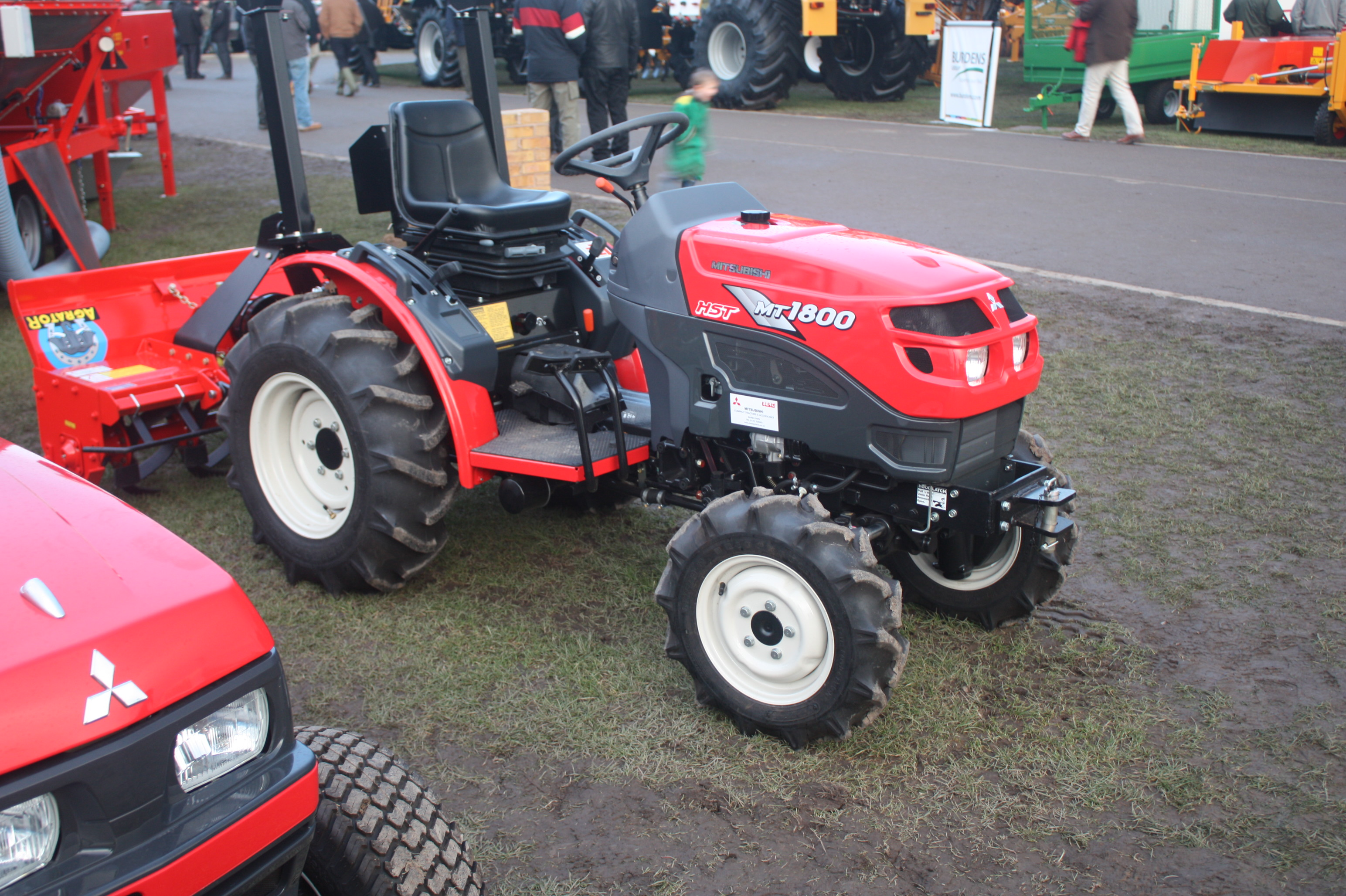 mitsubishi agricultural machinery tractor construction plant rh tractors wikia com