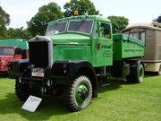 Scammell Mountaineer - HRR 348D at Newby 08 - P6080110