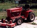 Wheel Horse C-185 electric - 1975