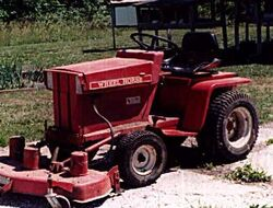 Wheel Horse C-185 electric - 1975