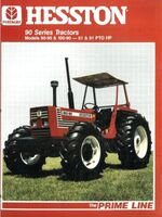 Hesston 100-90 MFWD brochure