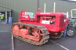 International TD18 Crawler tractor at Newark VTH 08 - IMG 3441