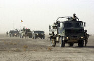 Romanian and US military conduct an operation in Afghanistan
